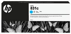 Картридж HP № 831, Cyan, 775 мл, CZ695A