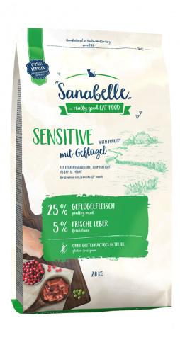 Bosch Sanabelle Sensitive с птицей 2 кг