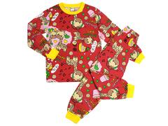 BK580K-12 пижама детская, красная
