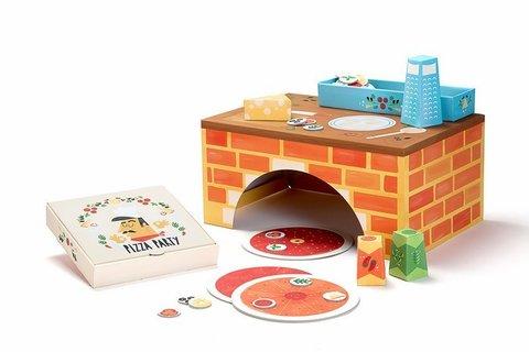 Игровой набор Krooom Вечеринка с пиццей