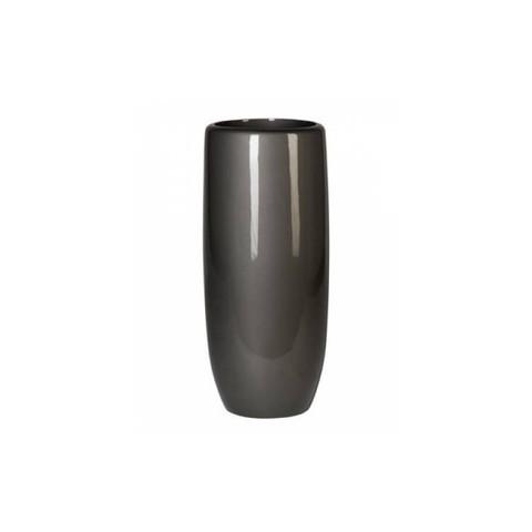 Кашпо Callisto Vase unpainted, 39x90см антрацит