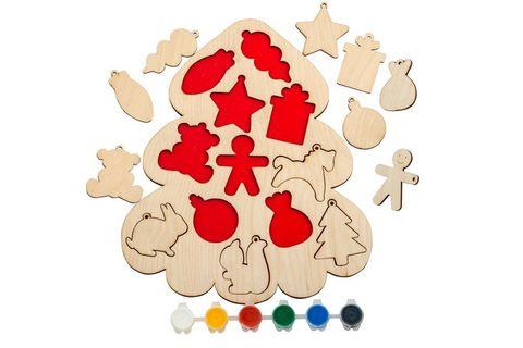 Рамки-вкладыши Новогодние игрушки, Smile-Decor