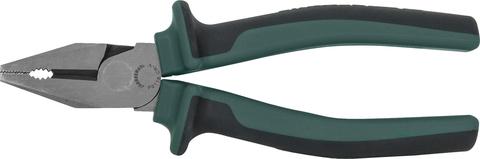 P0116 Пассатижи с увеличенными рычагами и двухкомпонентными рукоятками, 160 мм