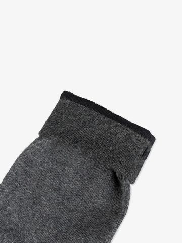 Men's grey knee-high socks (2 shades)