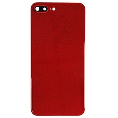 Back Cover Apple iPhone 8Plus Glass + Camera Glass RED AAA MOQ:10