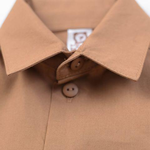 Shirt for teens- Hazelnut