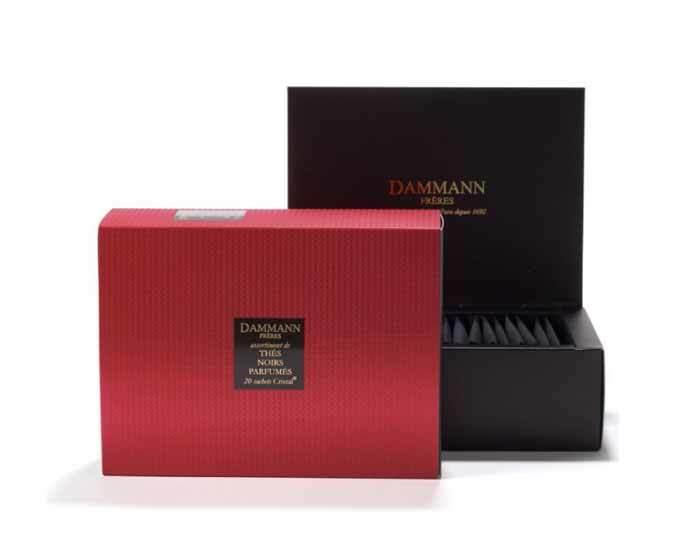 Набор чая Dammann Red Box, Красный