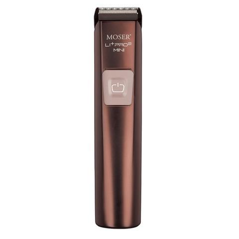 Триммер Moser Li+Pro2 Mini, аккум/сетевой, 1 насадка, коричневый