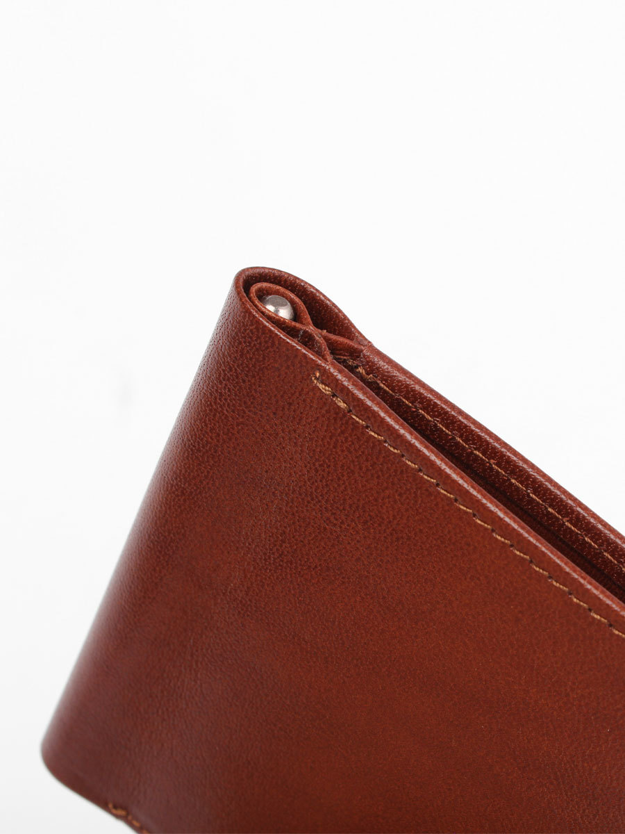 B120342R Cognac - Зажим для купюр с RFID защитой MP