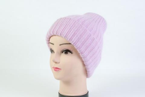 Женская шапка розовая SH H9160A rose