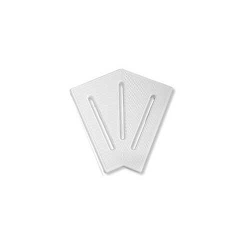 Угловой элемент AquaViva KK-20-2 Classic для переливной решетки 45° 190/25 мм (белый) / 22759