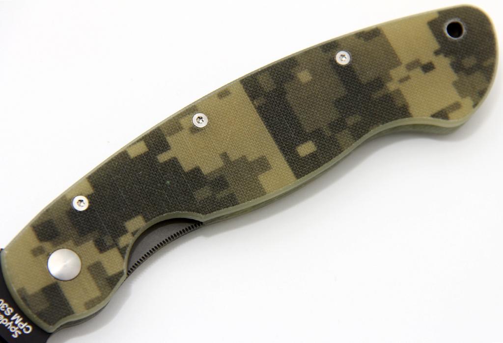 Нож Spyderco C36GPCMOBK Military Camo - фотография