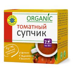 Крем-суп, Компас Здоровья, Томатный, 30 г, 10 шт