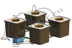 Гидропонная система CubePot QUARTET 100х100, гидропонная установка