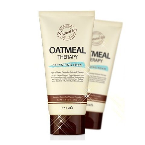 Очищающая пенка Calmia Oatmeal Therapy Cleansing Foam 150 ml