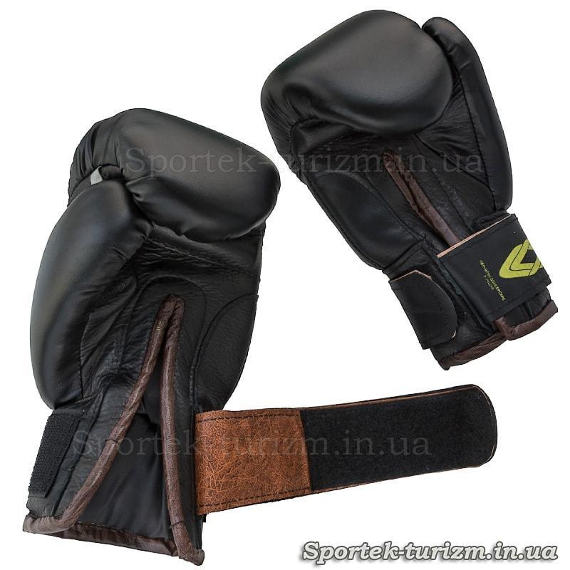 Боксерские перчатки на липучке JAB 8 oz