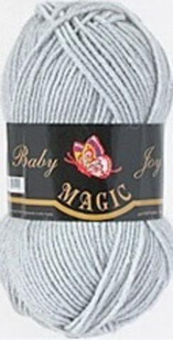 Пряжа Baby Joy (Magic) 5723 Светло-серый фото