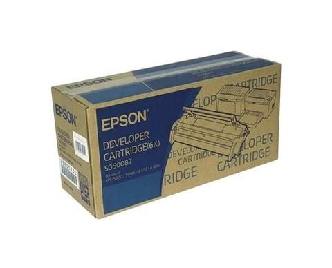 Картридж Epson C13S050087 черный