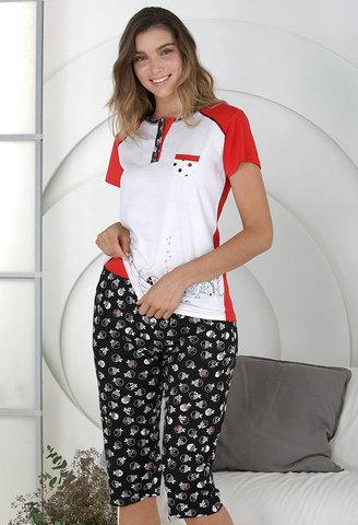 Пижама женская с бриджами Massana MP_211201