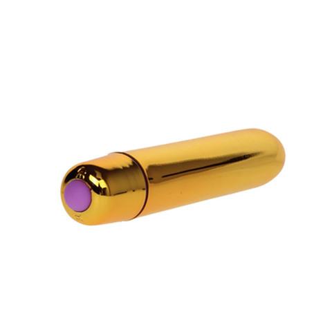 Вибропуля 9 см, золотой