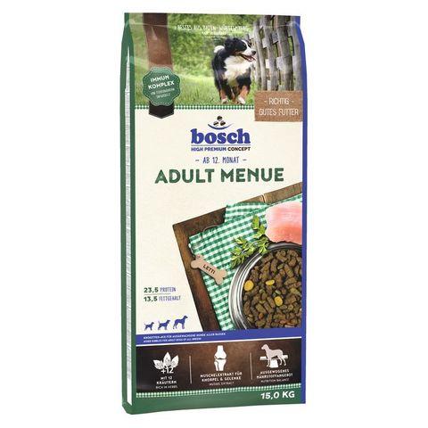 Корм для собак Bosch (15 кг) Adult Menue