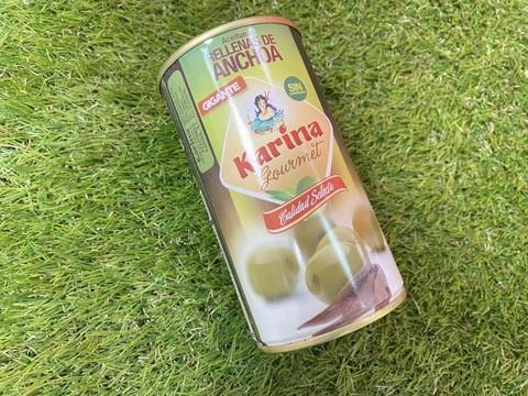 Оливки Aceitunas Rellena Anchoa 150г с анчоусами Испания
