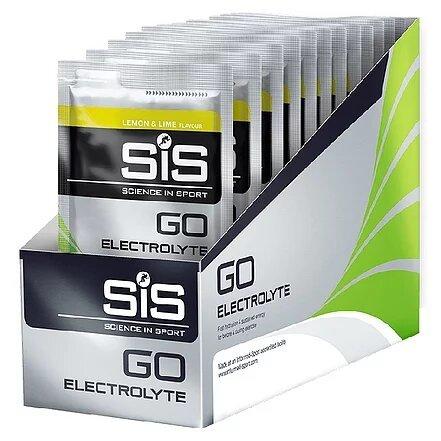 SiS Go Electrolyte Powder, Лимон/Лайм, 40 гр. упаковка 18 шт. (Великобритания)