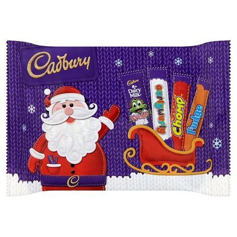 Cadbury Small Santa Selection Pack 89 гр