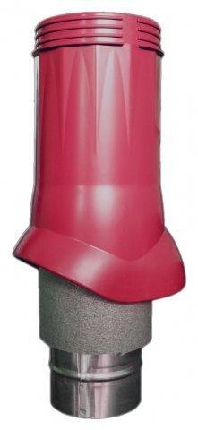 Выход вентиляционный ERA VWO D125/160 Crimson изолированный для нанодефлектора, пластик