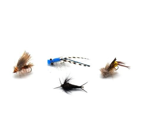 Набор мушек Pacific Fly Group Terrestrials №1 р. М., 4 шт. (70003753)