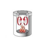 Несгораемая корзина для бумаг (7л), артикул 378942, производитель - Brabantia, фото 3