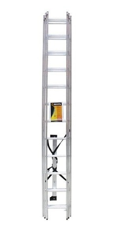Лестница алюминиевая трехсекционная ВИХРЬ ЛА 3х12
