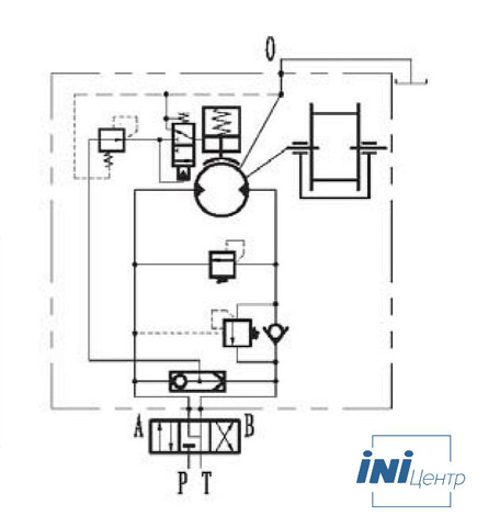 Стандартная лебедка IYJ488-500-178-50-ZPG