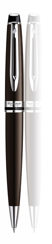 *Шариковая ручка Waterman Expert 3, цвет: Deep Brown CT, стержень: Mblu123