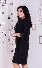 Франческа. Гарне плаття великих розмірів. Чорний