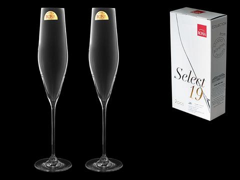 Набор из 2 бокалов для шампанского «Swan», 190 мл