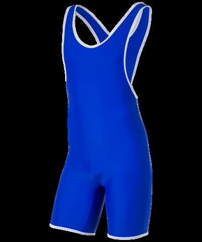 Трико борцовское 6917, 44-54, синий