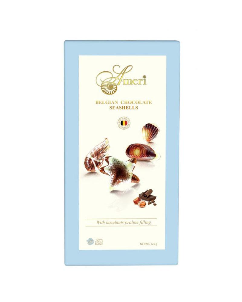 Шоколадные конфеты Ameri с начинкой пралине, 125 гр.