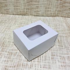 Коробка 11х9х6 см, картон, с окошком,