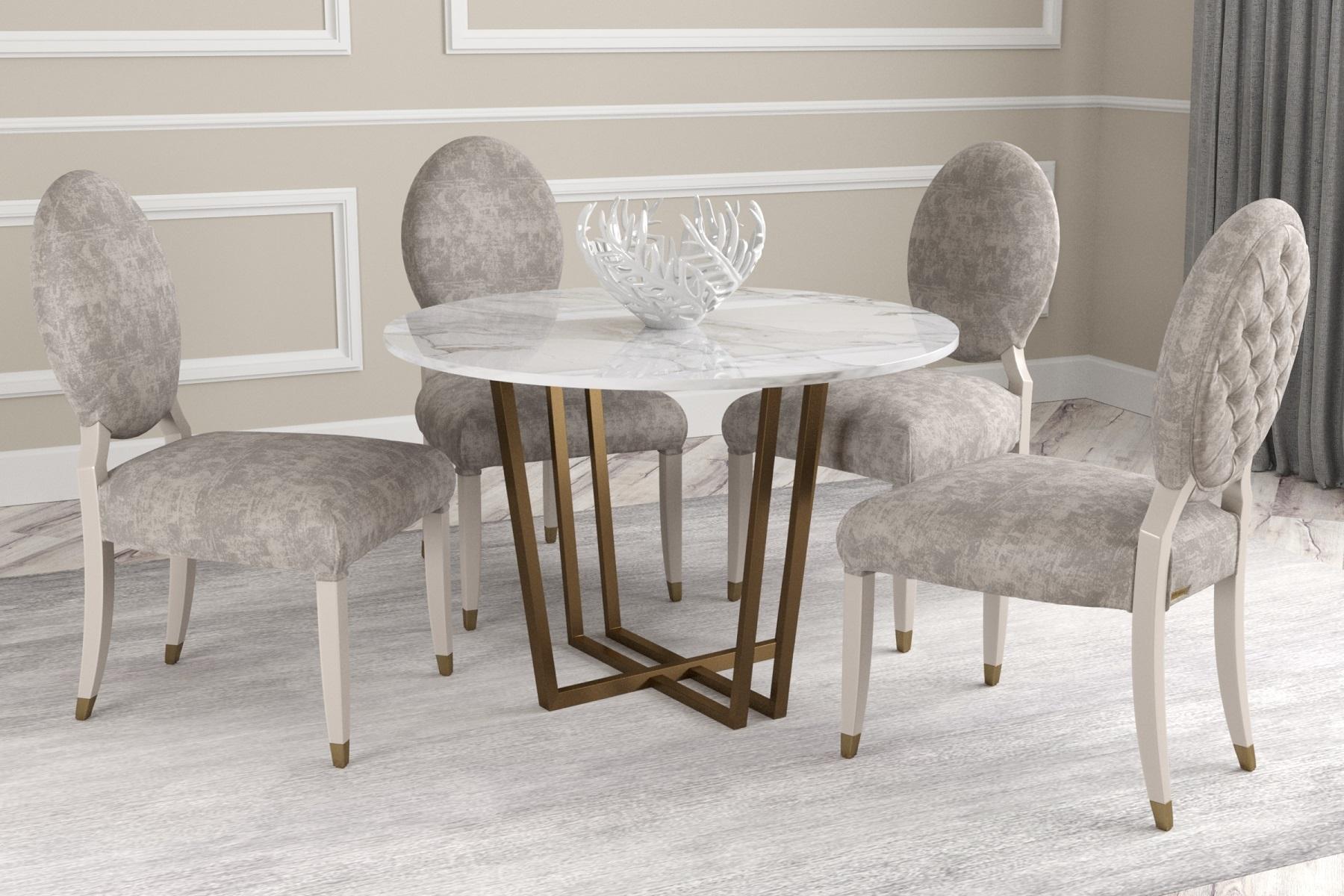 Обеденный стол Bel Ø110 - вид 2