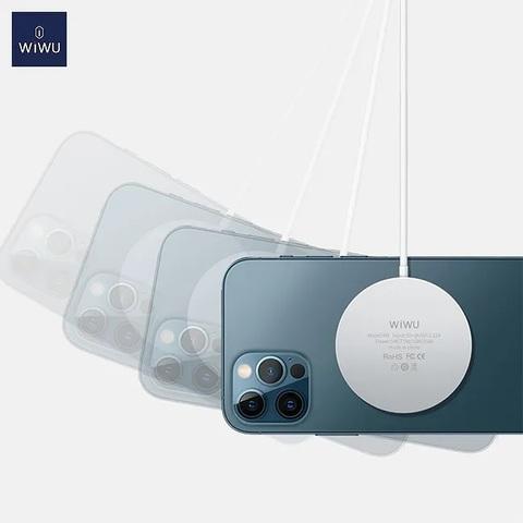 Беспроводная зарядка Wiwu MagSafe Charger (M5) /white/
