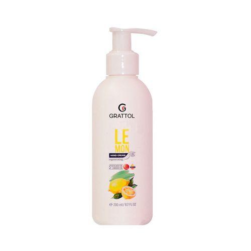 Крем для рук Grattol, Крем для рук Лимон, Hand Cream Lemon, 200 мл Grattol__Крем_для_рук_Лимон__Hand_Cream_Lemon__200_мл.jpg