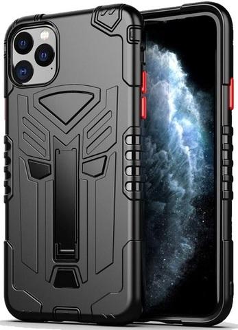 Чехол для iPhone 11 Pro Max серии Dual X с магнитом и складной подставкой, черного цвета от Caseport