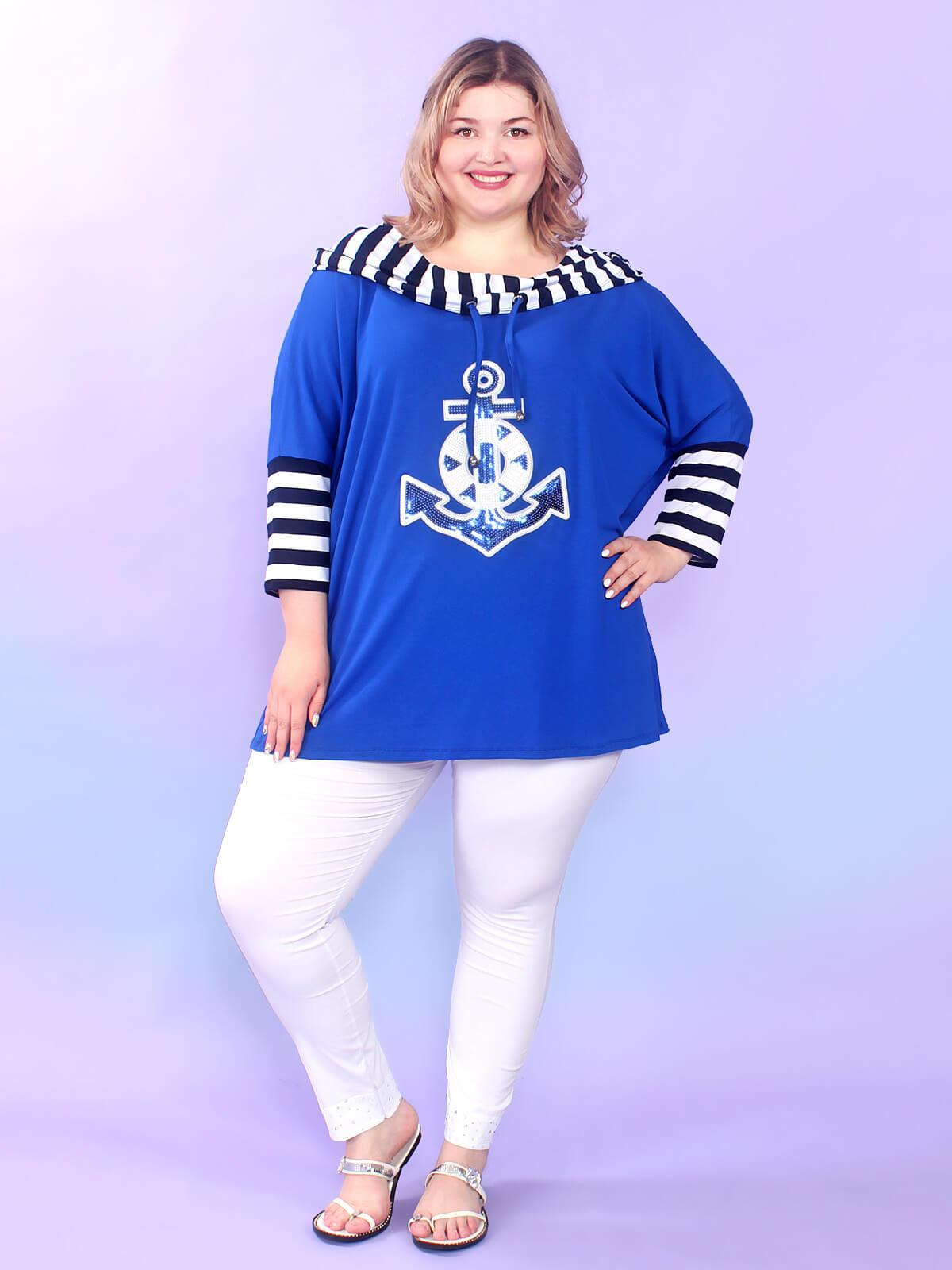 Блуза Якорь