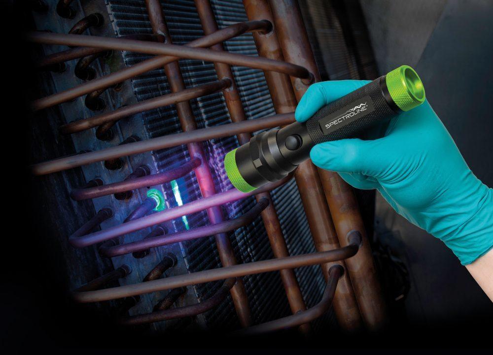 Светодиодная лампа фиолетового света для обнаружения утечек