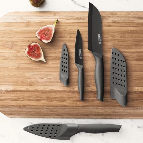 3пр набор ножей с покрытием от налипания