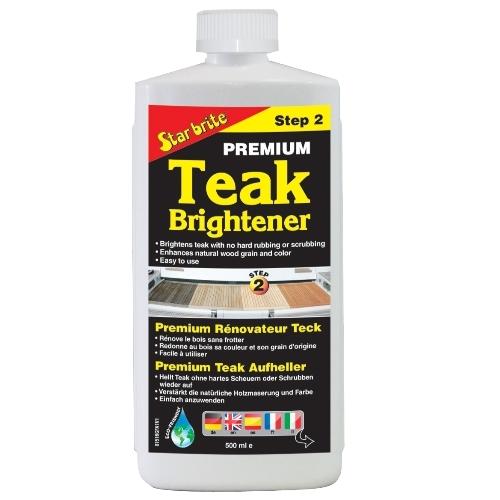 Premium teak brightener (Step 2)
