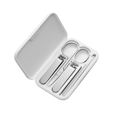 Маникюрный набор xiaomi mijia stainless steel nail clippers