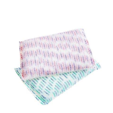 Скруббер для мытья посуды набор ( 13 х 9 х 1,5 ) SB PREMIUM PASTEL DISH SCRUBBER 2PC  2шт