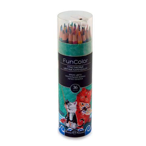 Карандаши цветные BRUNO VISCONTI Funcolor 36 цв 30-0088